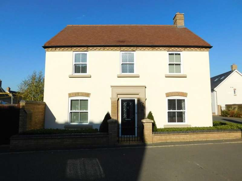 4 Bedrooms Link Detached House for sale in Faraday Gardens, Fairfield, Hitchin SG5 4FW