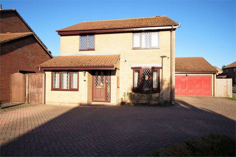 4 Bedrooms Detached House for sale in Adwell Drive, Lower Earley, READING, Berkshire