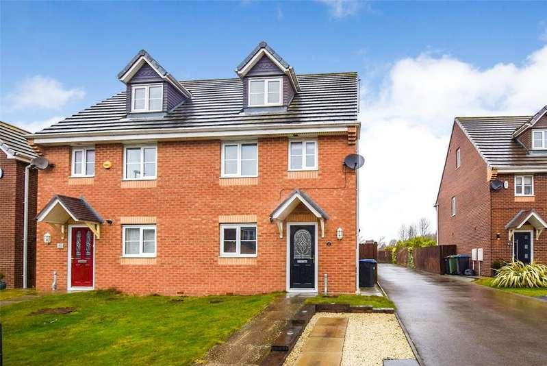 4 Bedrooms Semi Detached House for sale in Douglas Way, Murton, Seaham, Co. Durham, SR7