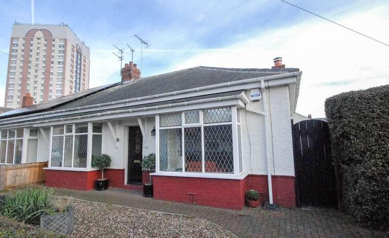 2 Bedrooms Bungalow for sale in Derby Crescent, Hebburn