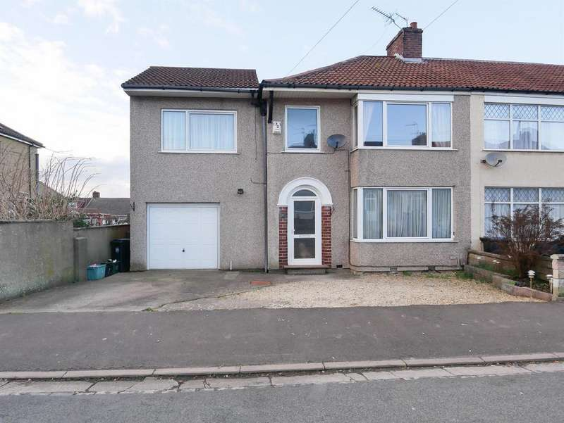 4 Bedrooms End Of Terrace House for sale in Savoy Road, Brislington