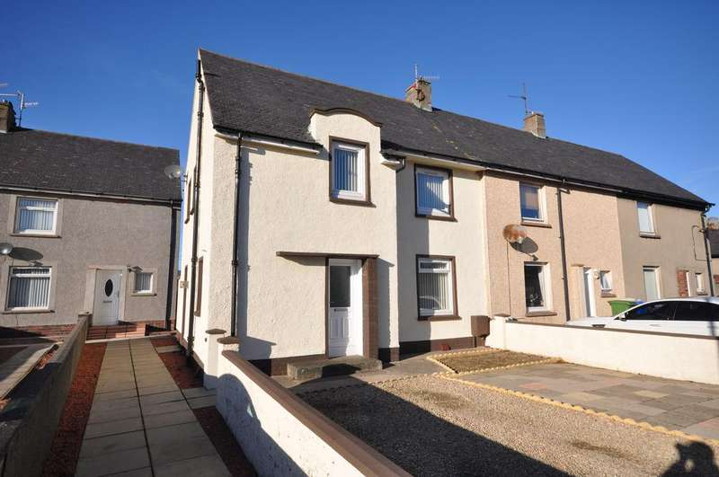 3 Bedrooms End Of Terrace House for sale in 36 McCulloch Road, Girvan KA26