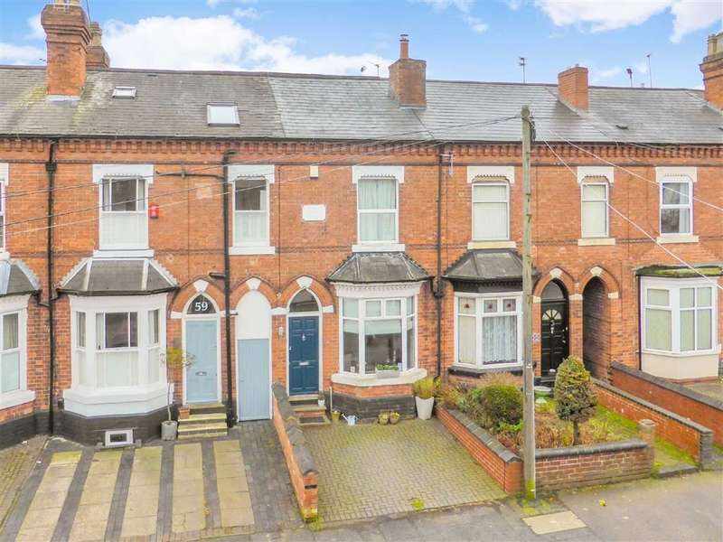 3 Bedrooms Terraced House for sale in Greenfield Road, Harborne
