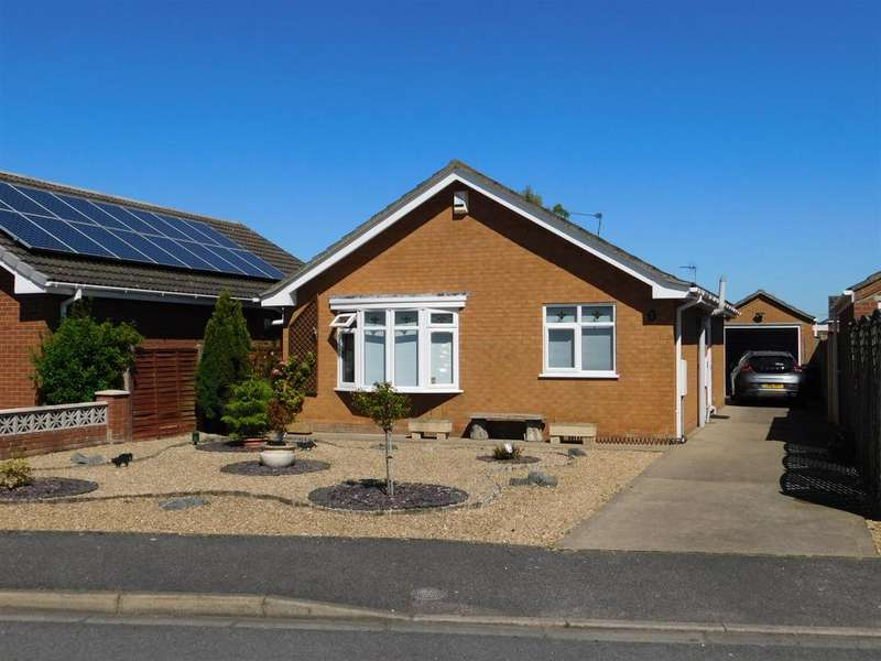2 Bedrooms Detached Bungalow for sale in Nelson Close, Skegness, PE25 1TA