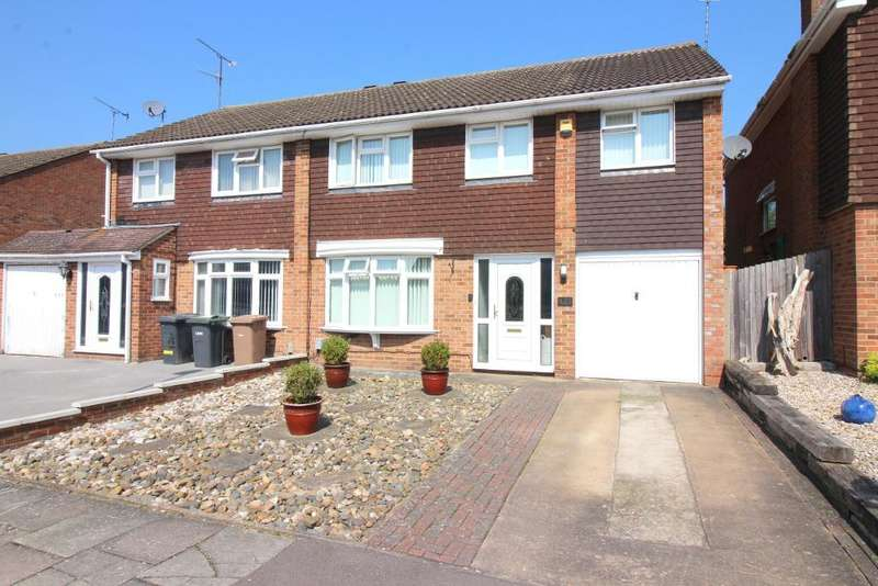 4 Bedrooms Semi Detached House for sale in Old Bedford Road, Luton, Bedfordshire, LU2 7BY