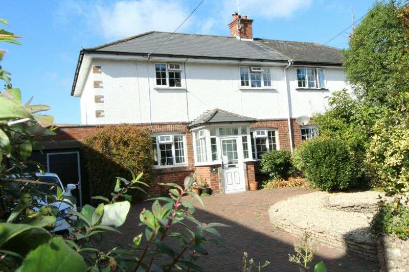 4 Bedrooms Semi Detached House for sale in BUDLEIGH HILL, EAST BUDLEIGH