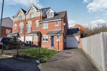3 Bedrooms End Of Terrace House for sale in Union Street, Dunstable, Bedfordshire, England