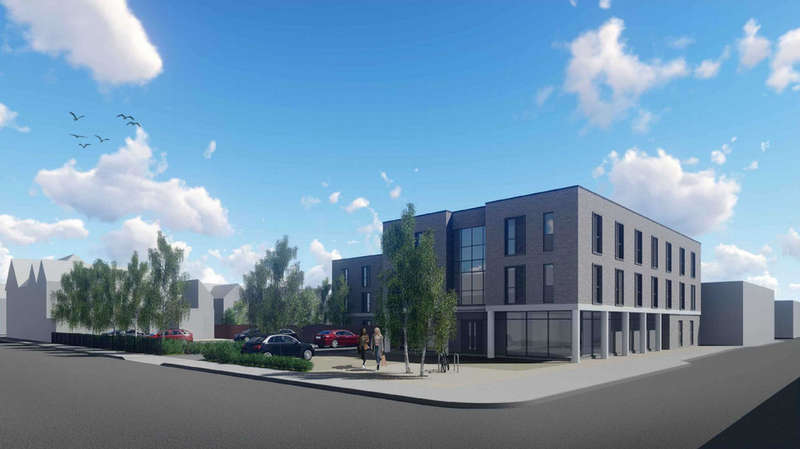 48 Bedrooms Land Commercial for sale in student planning permission 48 studio