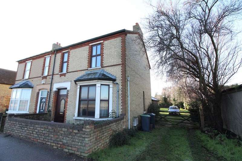 3 Bedrooms Semi Detached House for sale in High Road, Beeston, Sandy, SG19