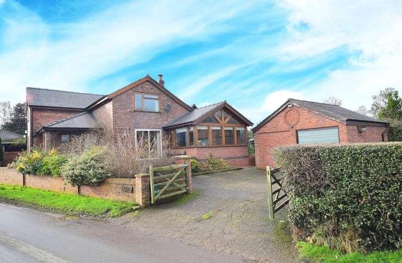 3 Bedrooms Detached House for sale in Oldcastle, Malpas