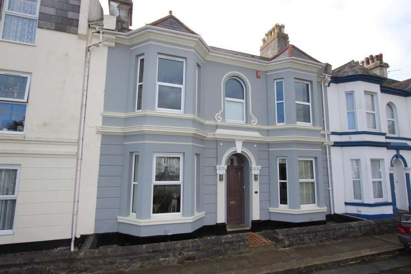 4 Bedrooms Terraced House for sale in Eddystone Terrace, West Hoe