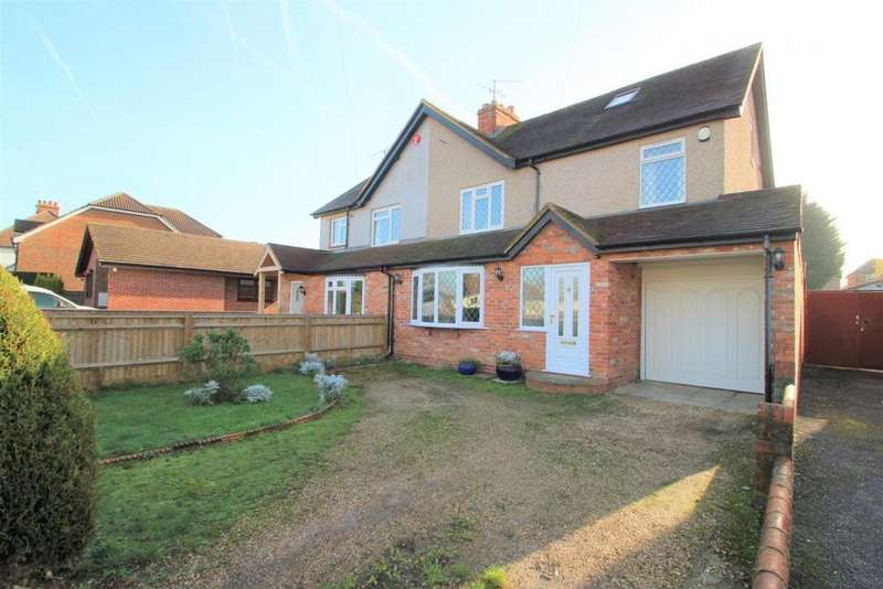 4 Bedrooms Semi Detached House for sale in Grazeley Road, Three Mile Cross, RG7
