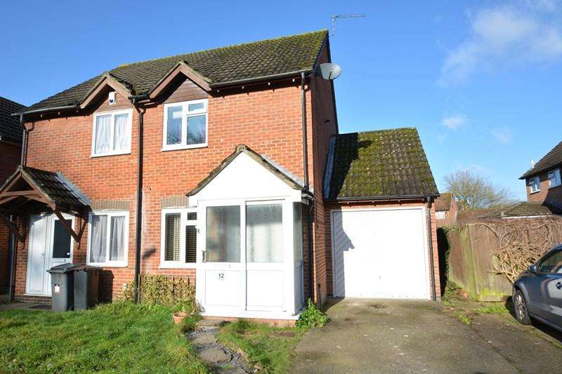 2 Bedrooms Semi Detached House for sale in Robin Way, Andover