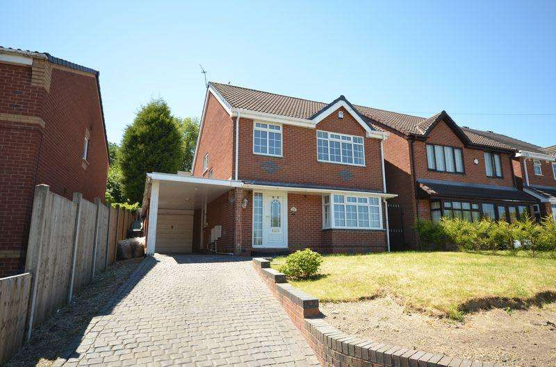 4 Bedrooms Detached House for sale in Hall Lane, Coseley, Bilston