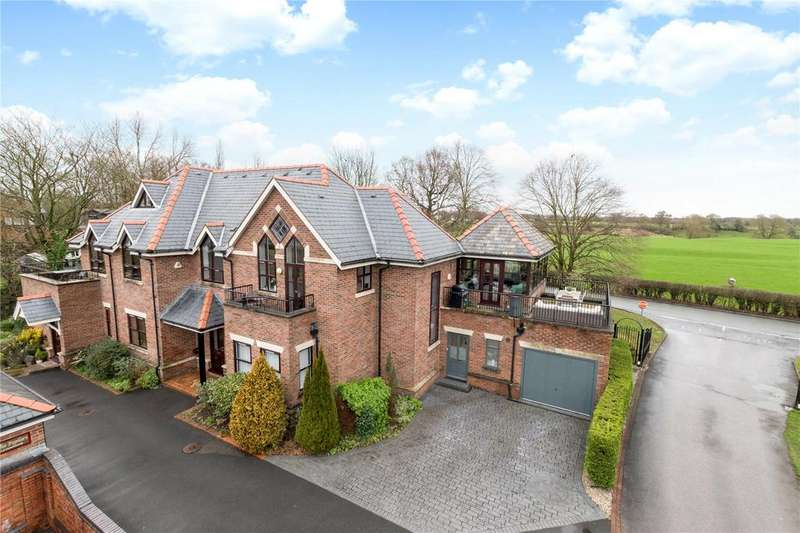 3 Bedrooms Semi Detached House for sale in The Poplars, Warford Park, Faulkners Lane, Mobberley, WA16