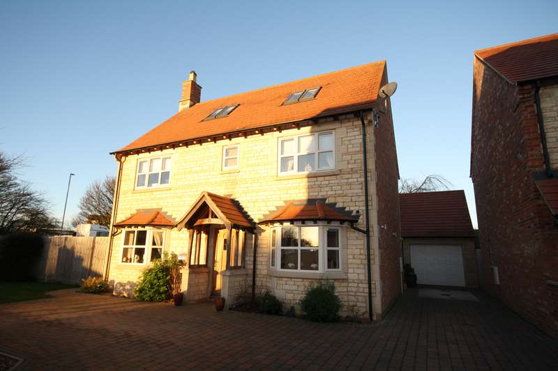4 Bedrooms Property for sale in Bourne Road, Corby Glen, Grantham