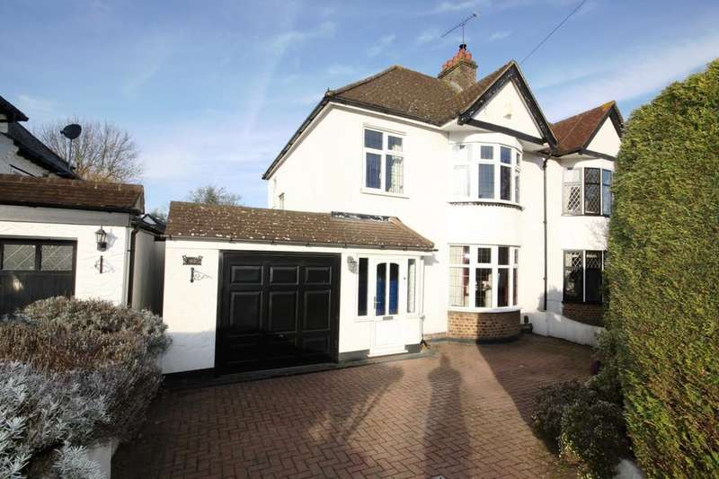 3 Bedrooms Semi Detached House for sale in Priory Avenue, Petts Wood East