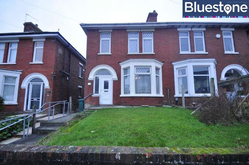 3 Bedrooms Semi Detached House for sale in Brecon Road, Newport