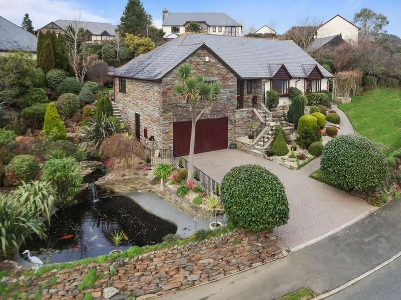 3 Bedrooms Detached Bungalow for sale in Lake View, St. Mellion, Saltash