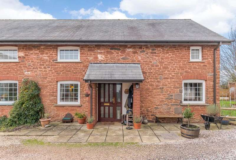 3 Bedrooms Semi Detached House for sale in Bussells Farm, Huxham, Exeter, Devon