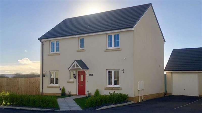 4 Bedrooms Detached House for sale in Rhes Brickyard Row, Machynys, Llanelli