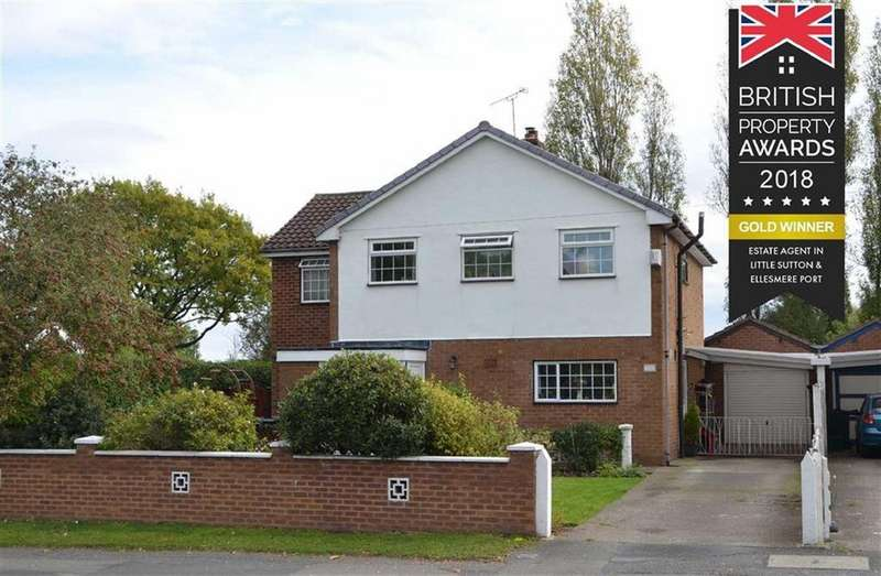4 Bedrooms Detached House for sale in Rivacre Road, CH66