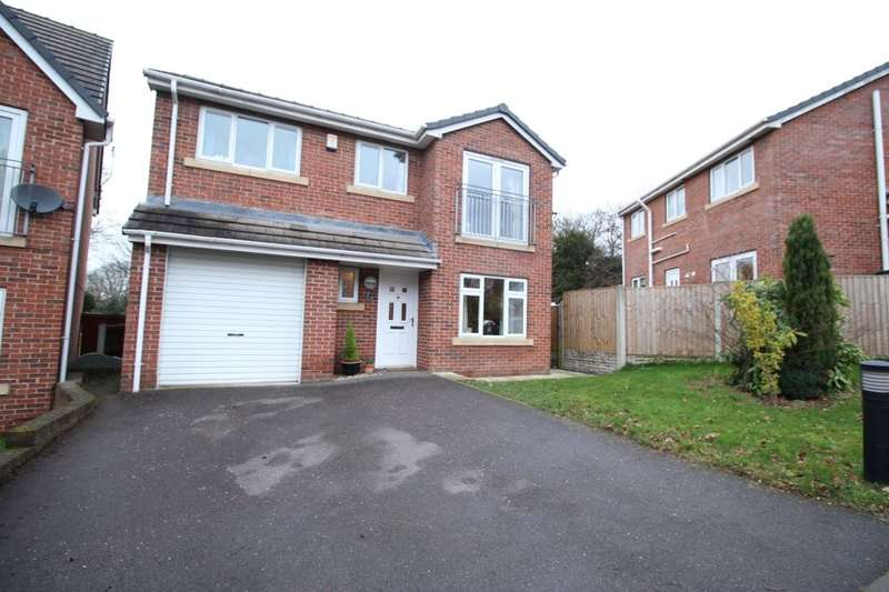 4 Bedrooms Detached House for sale in Rectory Gardens, Duckmanton, Chesterfield, S44