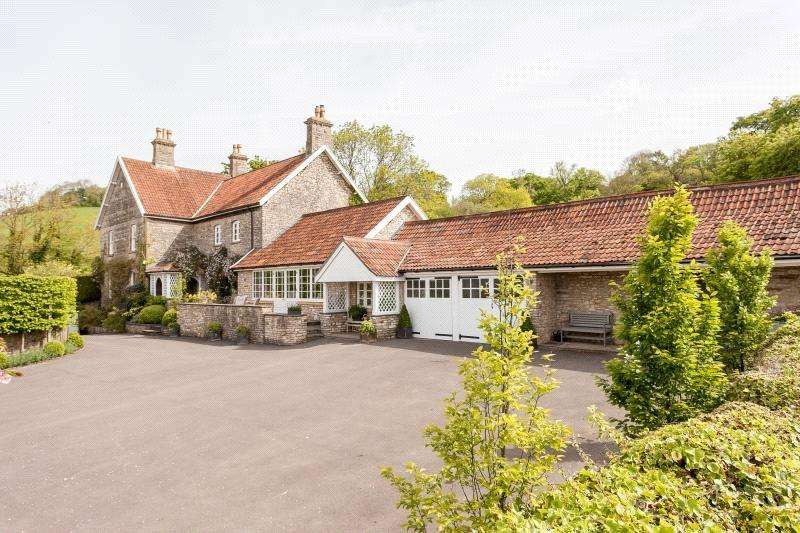 5 Bedrooms Detached House for sale in Coley, East Harptree, Bristol, Somerset, BS40