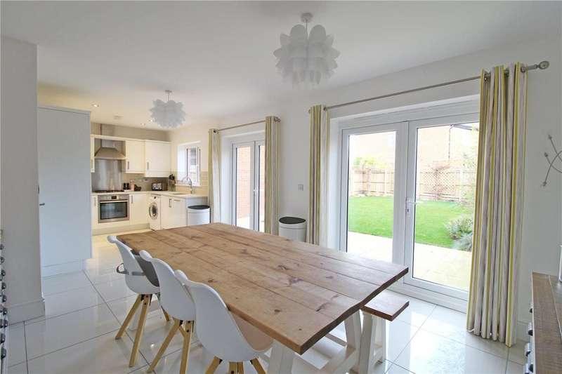 4 Bedrooms Detached House for sale in Cuckoo Close, Helpston, Peterborough, Cambridgeshire, PE6