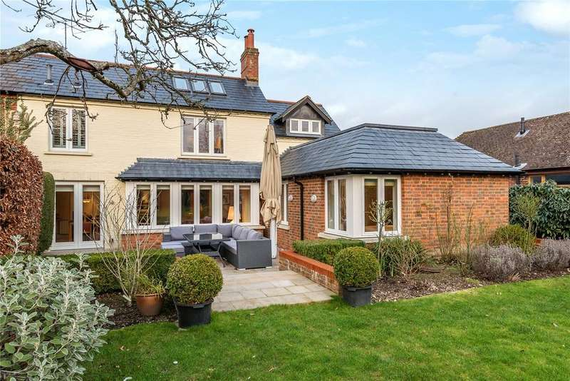 3 Bedrooms Semi Detached House for sale in Church Lane, Cliddesden, Basingstoke, Hampshire, RG25