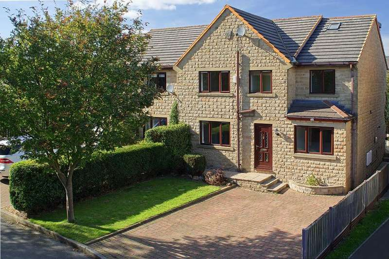 6 Bedrooms Semi Detached House for sale in Oliver Court, Drighlington