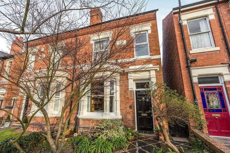4 Bedrooms Semi Detached House for sale in Park Avenue, Worcester, WR3