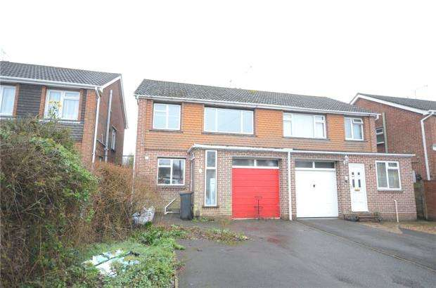 3 Bedrooms Semi Detached House for sale in Avon Crescent, Romsey, Hampshire