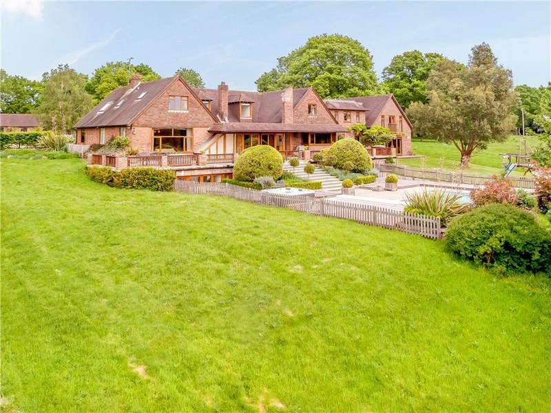 6 Bedrooms Detached House for sale in Spronketts Lane, Bolney, Haywards Heath, West Sussex, RH17