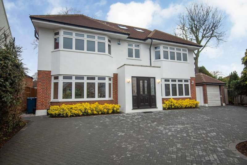 5 Bedrooms Detached House for sale in Woodridings Avenue, Pinner, Middlesex HA5