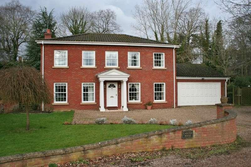 4 Bedrooms Detached House for sale in ELVEDEN CLOSE, NORWICH