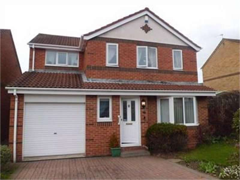 4 Bedrooms Detached House for sale in St Cuthberts Meadow, Sacriston, Durham
