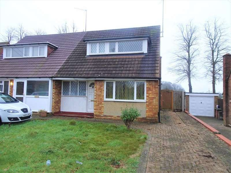 2 Bedrooms Chalet House for sale in Florence Avenue, Luton, Bedfordshire, LU3 3BZ