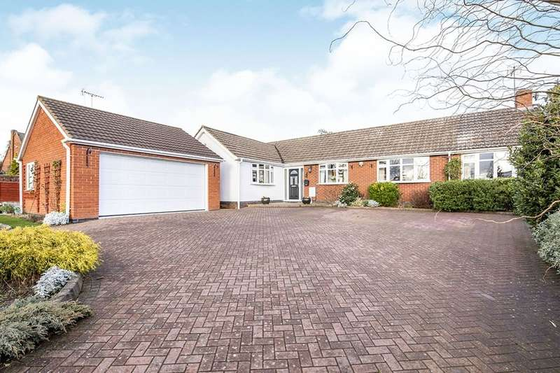 4 Bedrooms Detached Bungalow for sale in Station Road, Elmesthorpe, Leicester, LE9