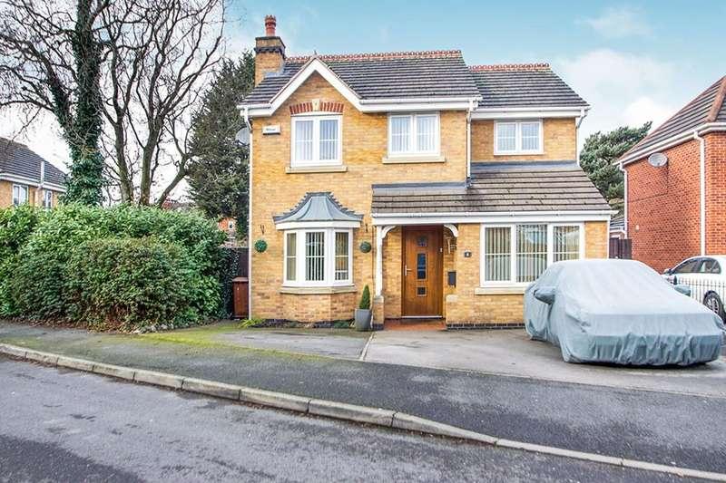 3 Bedrooms Detached House for sale in Somerleyton Drive, Ilkeston, DE7