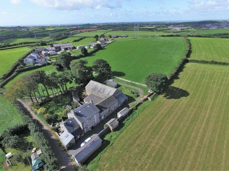 4 Bedrooms Farm House Character Property for sale in Skells Lodge, Near Great Urswick, Cumbria. LA15 8JG