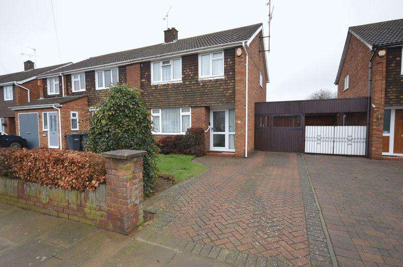 3 Bedrooms Semi Detached House for sale in Weltmore Road, Luton