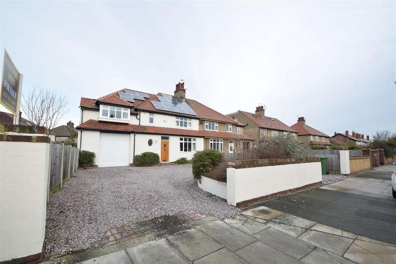 4 Bedrooms Semi Detached House for sale in Egbert Road, Meols, Wirral