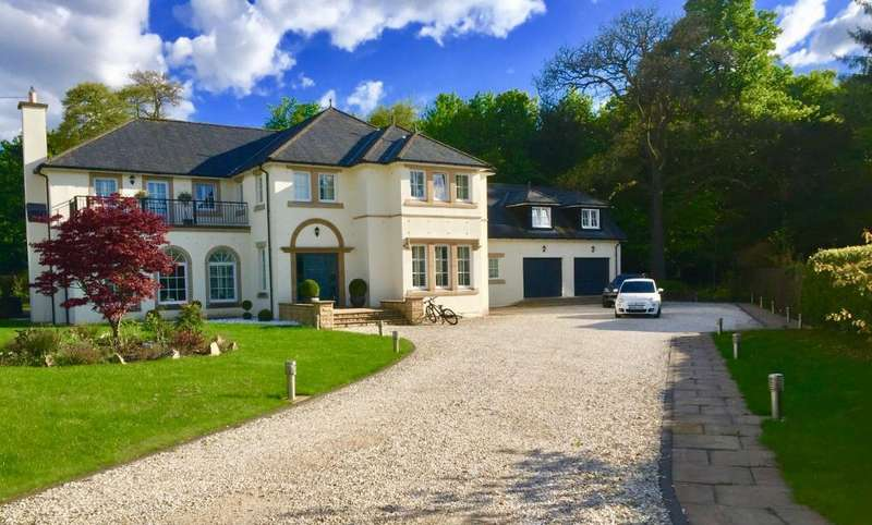 6 Bedrooms Detached Villa House for sale in Mar Hall Avenue, Bishopton, Renfrewshire, PA7 5QE