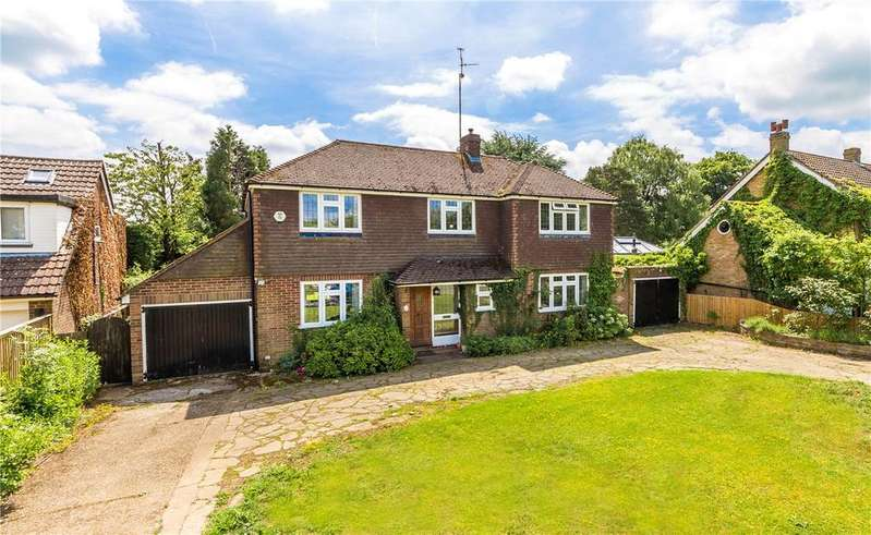 5 Bedrooms Detached House for sale in Cheverells Green, Markyate, St. Albans, Hertfordshire
