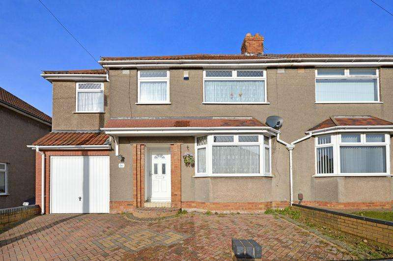 4 Bedrooms Semi Detached House for sale in Hillyfield Road, Bristol