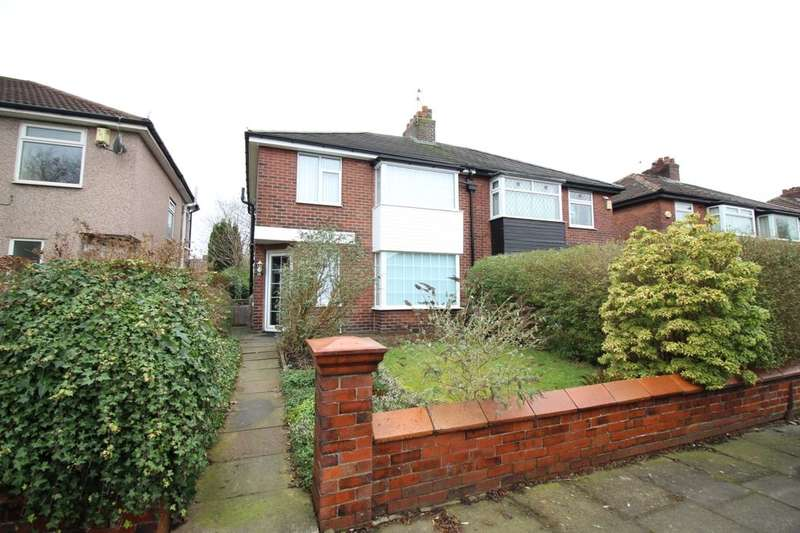 3 Bedrooms Semi Detached House for sale in Wordsworth Avenue, Bury, BL9