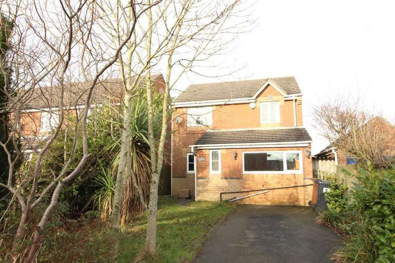 3 Bedrooms Detached House for sale in Delius Close, Whinny Heights, Blackburn, BB2