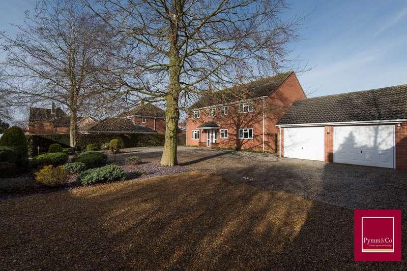 5 Bedrooms Detached House for sale in St Edmunds Close, Forncett End, NR16
