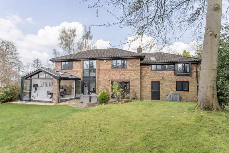 4 Bedrooms Detached House for sale in SIMPLY STUNNING. THE BURLINGS, ASCOT, BERKSHIRE, SL5 8BY
